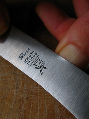 Нож для завтрака Buckelsklinge 118 (акация) Robert Herder Solingen