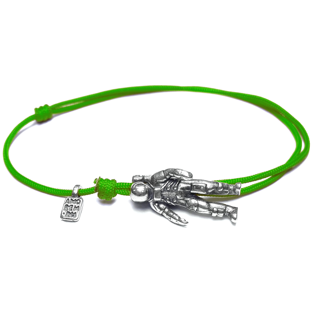 Astronaut Bracelet, sterling silver