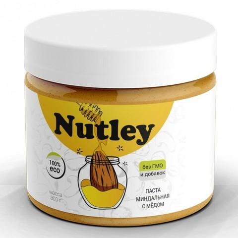 Паста миндальная с медом Nutley, 300г