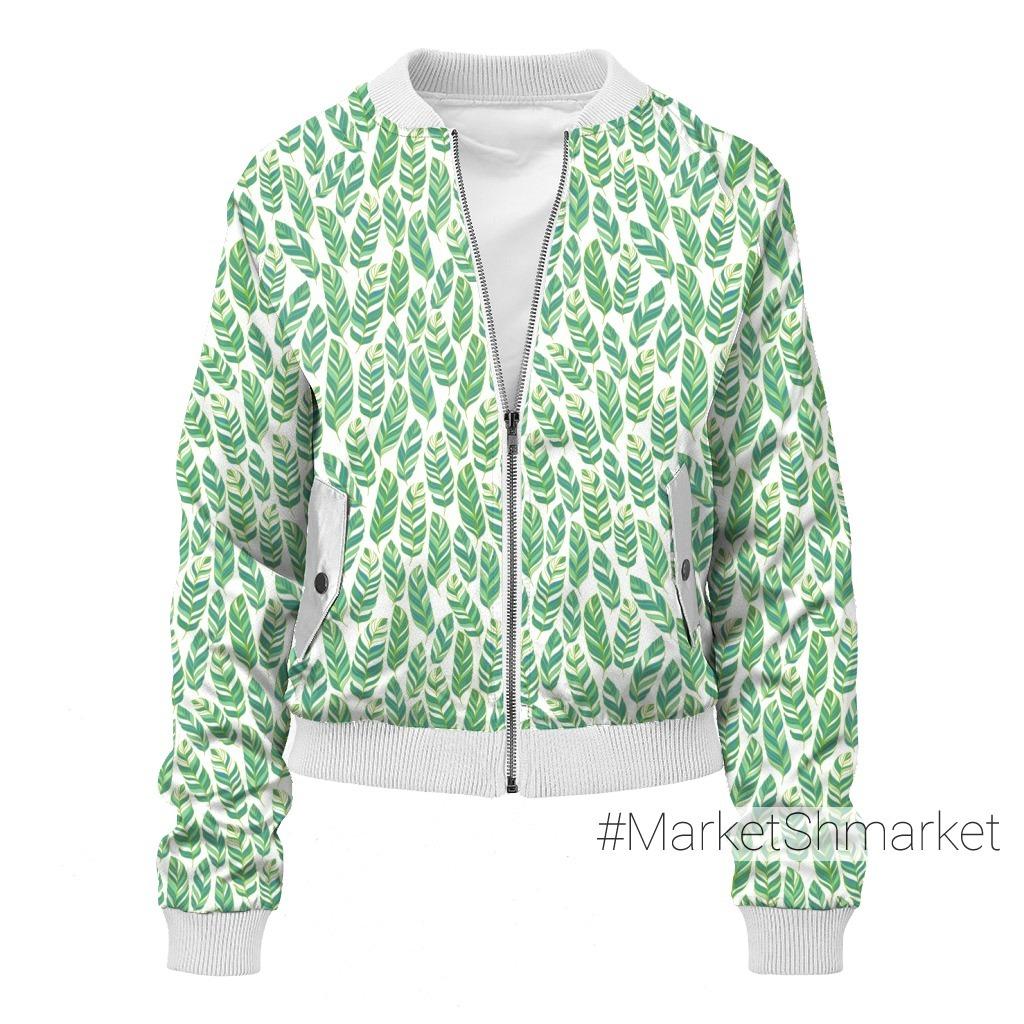 Зеленые листья. TROPICANA. (Дизайнер Irina Skaska)