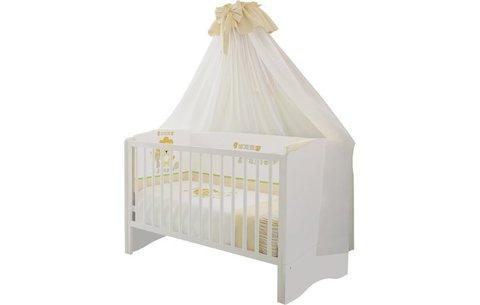 Кроватка детская Polini kids Simple 140х70 см, белый