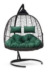 Подвесное кресло для двоих SEVILLA TWIN коричневое
