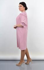 Тутсі. Елегантна сукня великих розмірів. Персик.