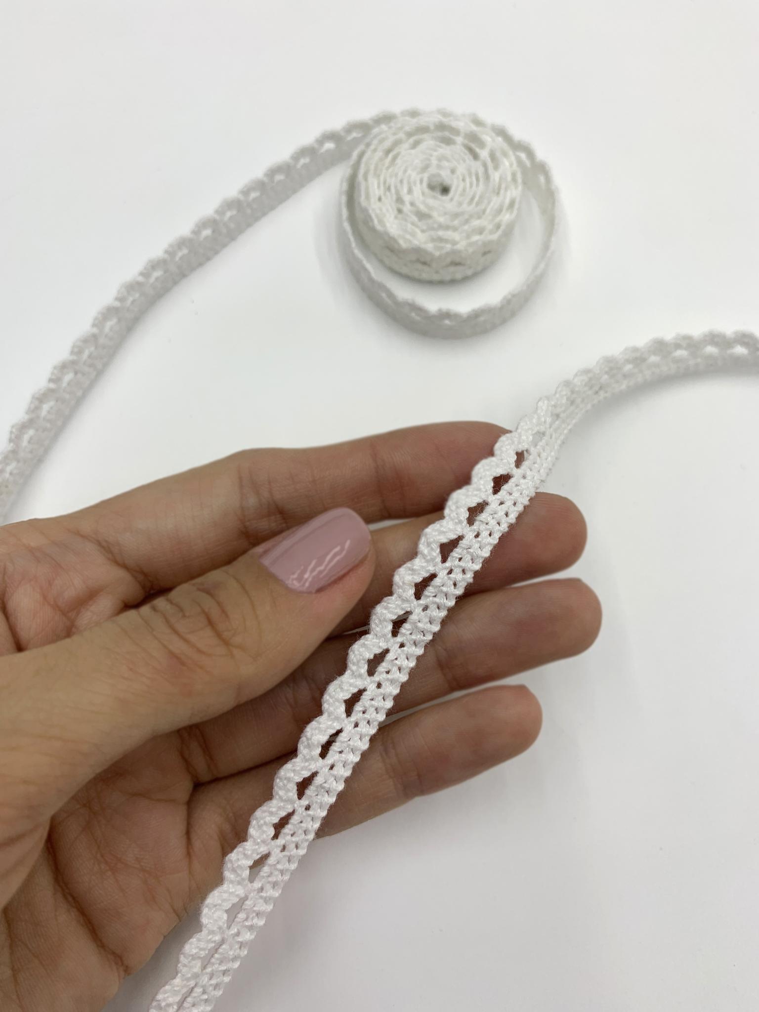 Кружево белое, 1,5 см