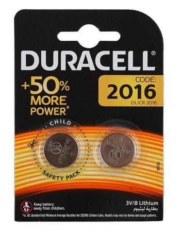 Батарея Duracell DL/CR2016 CR2016 (2шт)