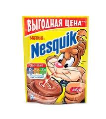 """Какао """"Nesquik"""" Plus витамины и минералы пакет 250г"""