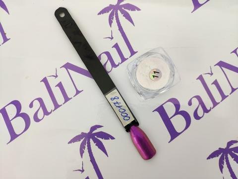 Пыль для втирки с аппликатором (фиолетовый) А004
