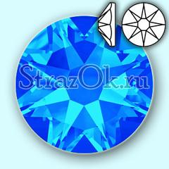 Купить термостразы горячей фиксации оптом Capri Blue Xirius 8+8 ярко-синие