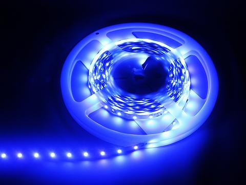 Лента светодиодная SMD5050-60-20-12-144-BL 60LED/м, IP20, 12В, 14,4Вт, синий, TDM