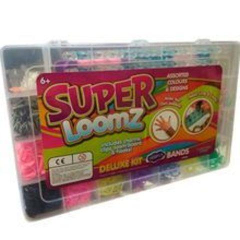 Набор резинок для плетения браслетовsuper loomz 2400