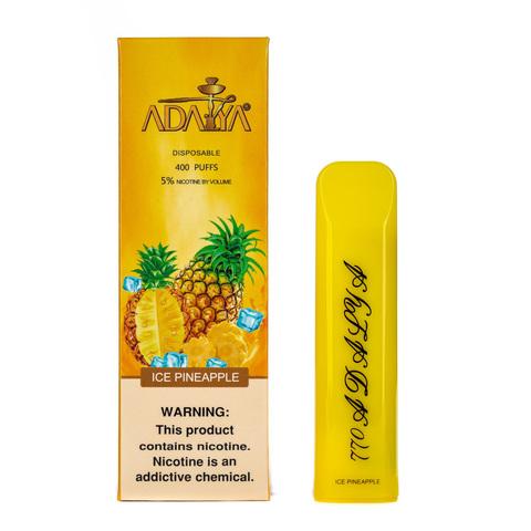 Одноразовая электронная сигарета Adalya Ice Pineapple 5% 400 затяжек