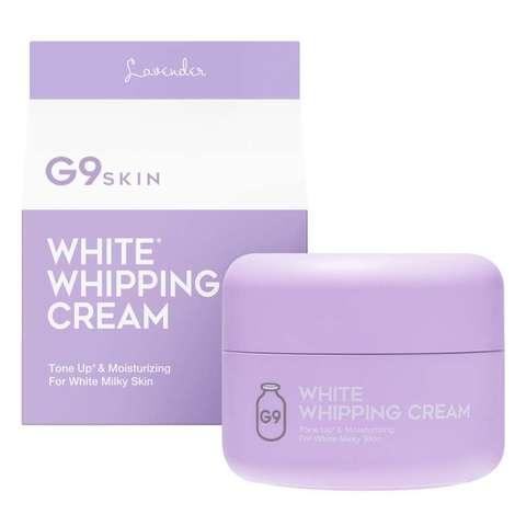 G9 White Крем для лица White in whipping cream (lavender)
