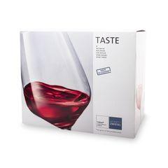 Набор бокалов для красного вина 497 мл, 6 шт, Taste, фото 4