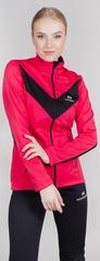 Теплая лыжная куртка Nordski Base 2021 Pink/Black женская