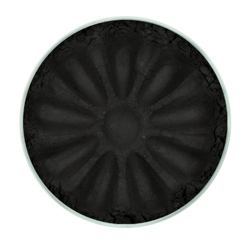 Для макияжа7: Тени минеральные для век тон 1102 Black Matte/матовые, TM ChocoLatte, 3 мл/1,2гр