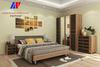 Кровать двухместная КР-106 из набора мебели для спальни КАМЕЛИЯ