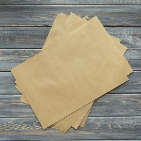 Крафт-бумага в листах А4