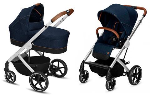 Детская коляска Cybex Balios S 2 в 1 Denim Collection Denim Blue