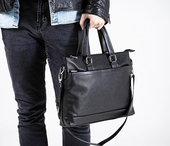 BAG533-1 Мужской портфель с ремнем на плечо фото 02