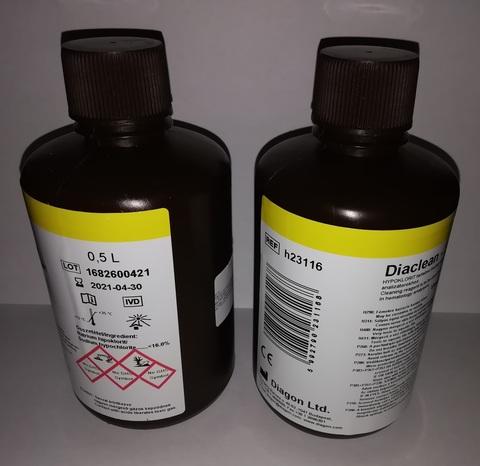 Диаклин-CИC (Diaclean-SYS), 0.5 л для коагулометров CA Sysmex