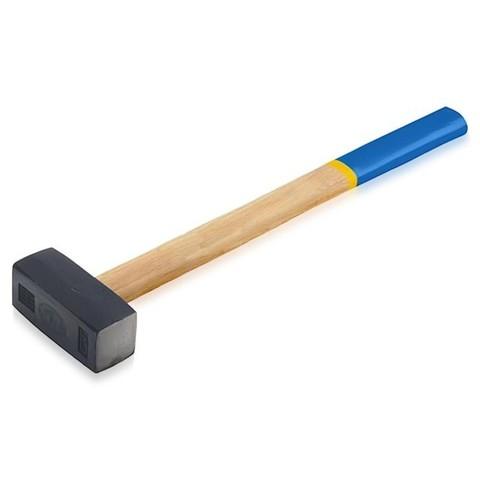 Кувалда кованая 3кг деревянная рукоятка (38-5-073)