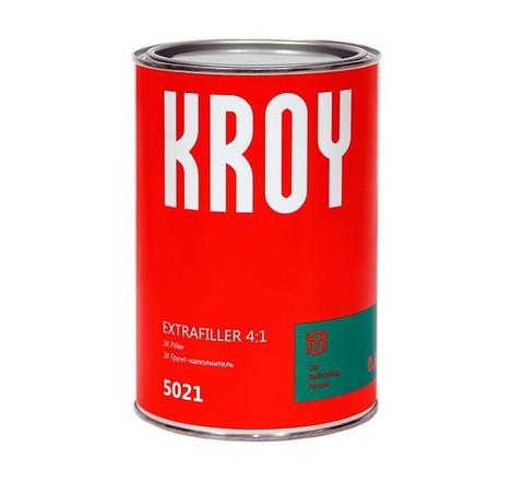 5021  KROY 2K EXTRAFILLER  4:1 Грунт-наполн. серый - 0,8 л. + отверд. H512 0,2 L 3112237