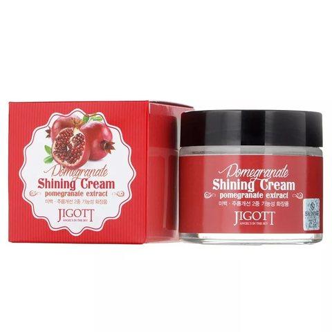 JIGOTT Крем д/лица (Гранат)  Pomegranate Shining Cream,70мл