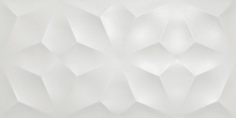 3D WALL DIAMOND WHITE MATT