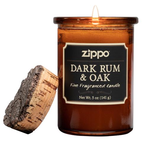 Ароматическая свеча Zippo Dark Rum & Oak ZIPPO 70016