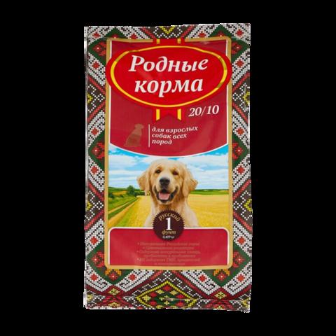 Родные корма Сухой корм для взрослых собак всех пород