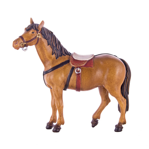 Лошадь в сбруе