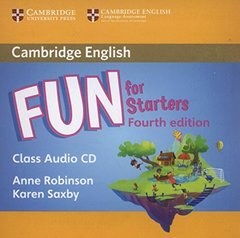 Fun for Starters 4th Edition Class Audio CD