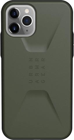 Чехол Uag Civilian для iPhone 11 Pro оливковый (Olive Drab)