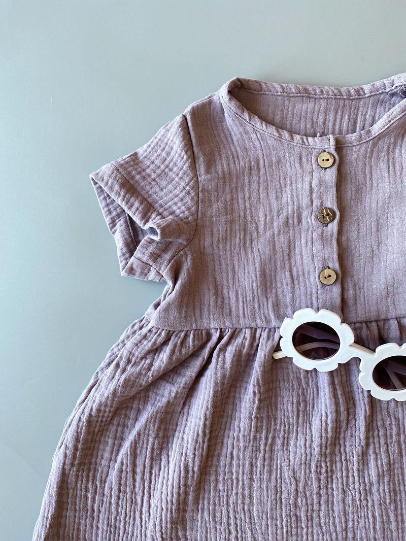 Муслиновое платье «Lilac»