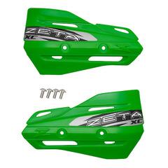 Лопухи для защиты рук Zeta XC, зеленый, ZE72-3108