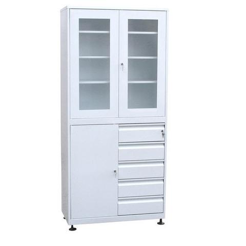 Шкаф для медикаментов с ящиками - фото