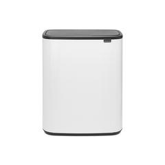 Мусорный бак Touch Bin Bo (2 х 30 л), Белый