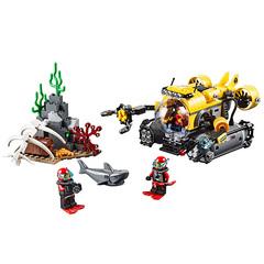 Lego Город Глубоководная подводная лодка (60092)