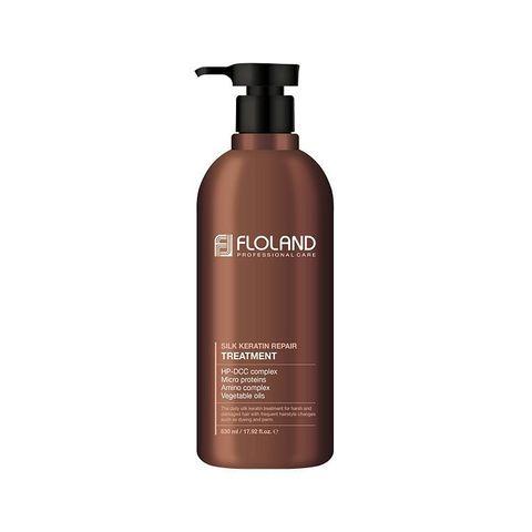 Floland Premium Silk Keratin Treatment Бальзам для восстановления поврежденных волос