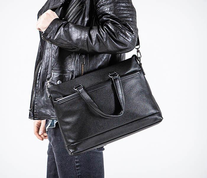 BAG533-1 Мужской портфель с ремнем на плечо фото 04