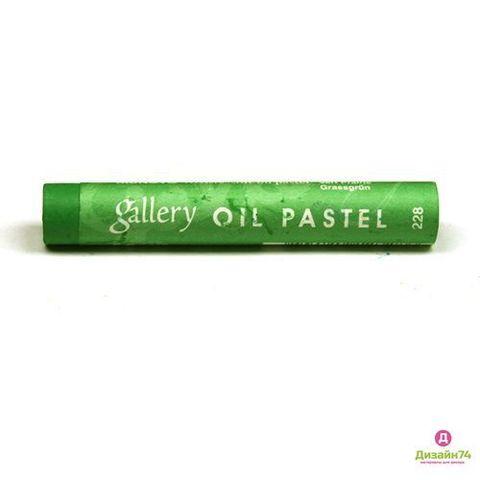 Пастель масляная Mungyo, профессиональная, цвет № 228 Травяной зелёный