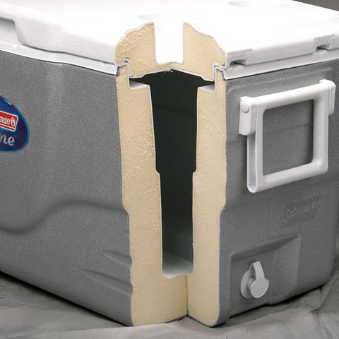 Изотермический контейнер (термобокс) Coleman 82 Qt (82 л.), серый