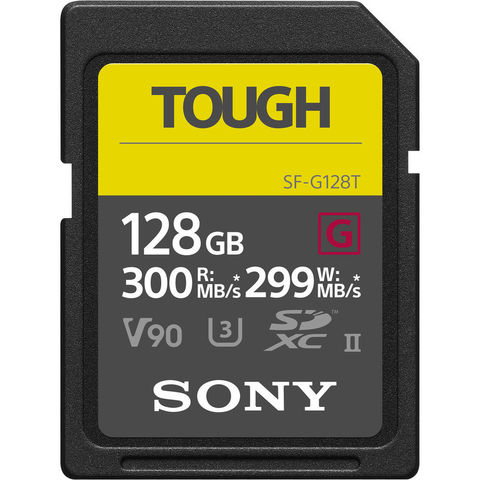 SF-G128T карта памяти Sony SF-G Tough Series UHS-II SDXC 128 Гб купить в Sony Centre Воронеж
