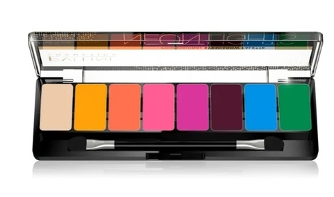 EVELINE Тени для век: 06-NEON LIGHTS Eyeshadow Professional Palette