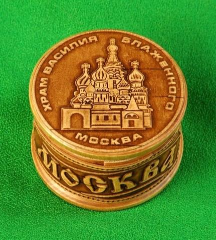 Шкатулка Москва Храм Василия Блаженного