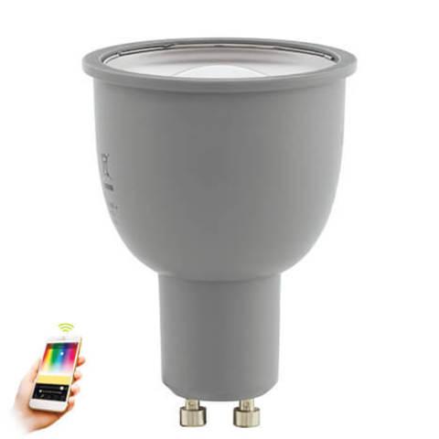 Лампа LED RGB диммируемая Умный свет Eglo EGLO CONNECT LM-LED-GU10 5W 400Lm 2700-6500K  11671