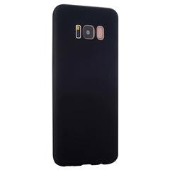 Силиконовый чехол для Samsung Galaxy S8+ (Черный)