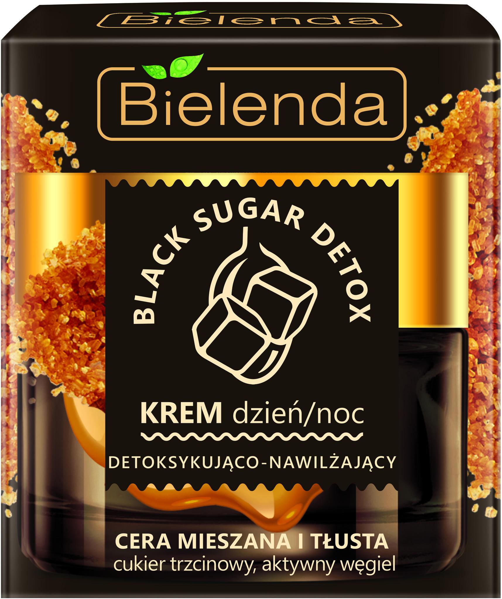 BLACK SUGAR DETOX  Детоксифицирующий и увлажняющий дневной / ночной крем для смешанной и жирной кожи