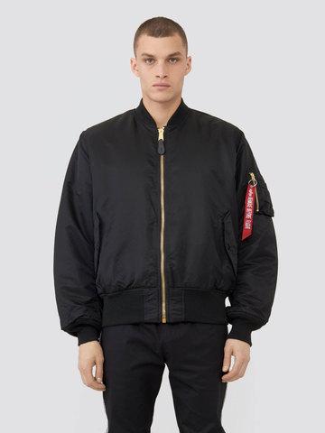 Куртка бомбер Alpha Industries MA-1 Black