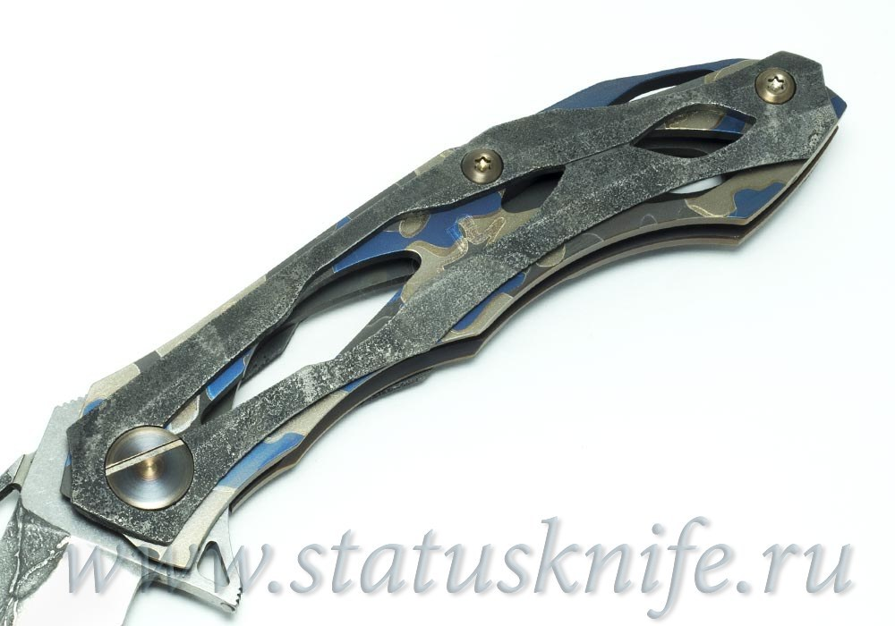 Нож CKF Десептикон-2 Decepticon 2 RELICT LIZARD Custom А.Коныгин - фотография